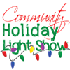 Community holiday light show