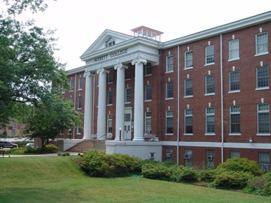Brick Building at Averett University