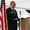 Mayor John Gilstrap speaks at Kyocera ceremony