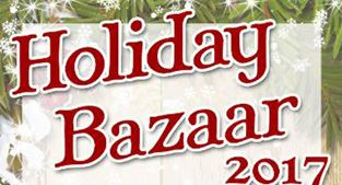 Holiday Bazaar 2017 poster