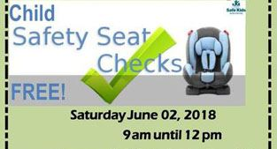 Child safety seats poster 2018
