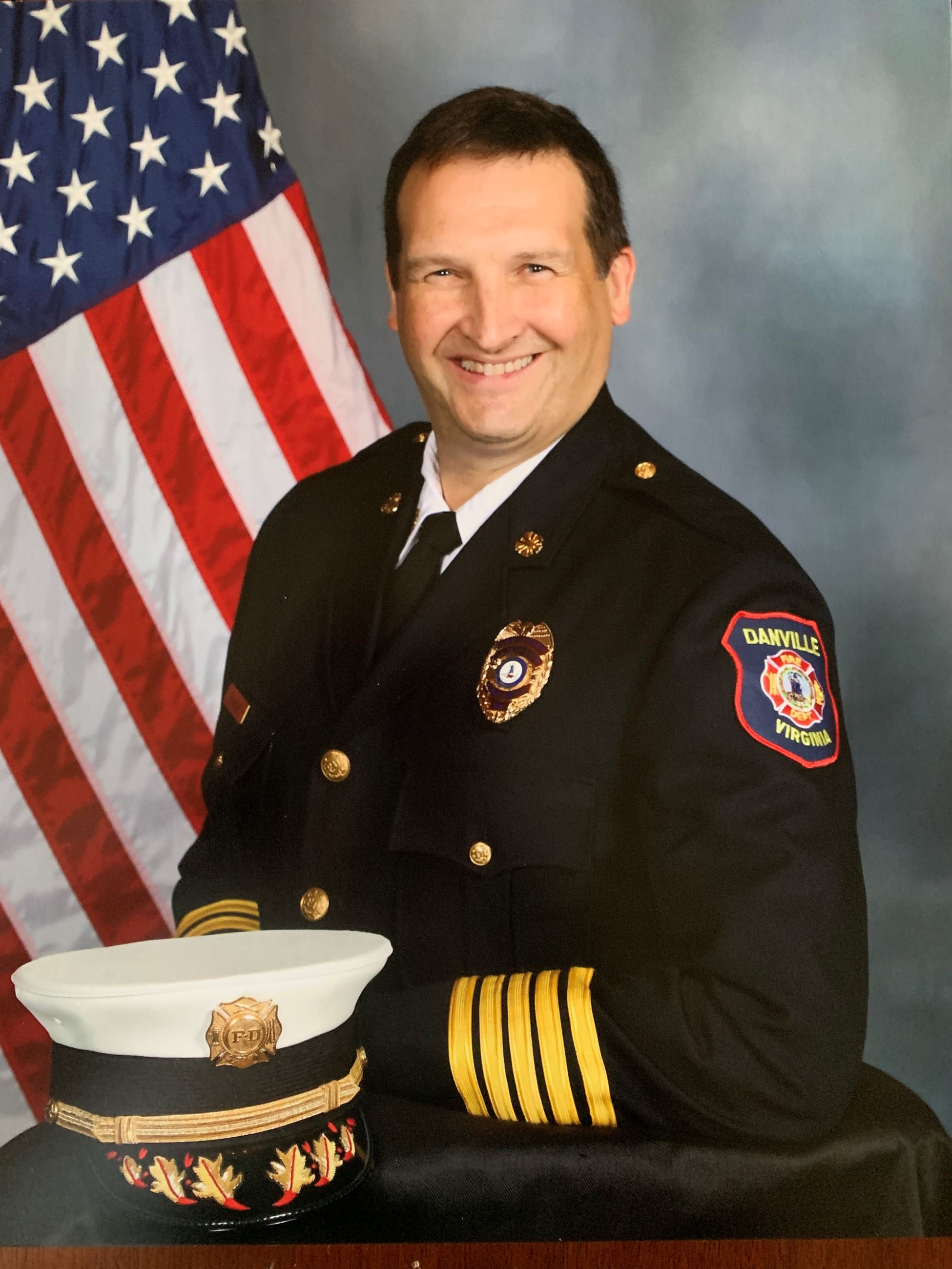 Fire Chief David Eagle