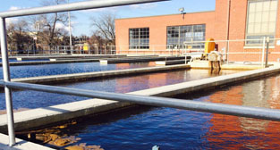 Water treatment plant file photo