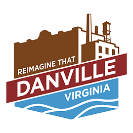 Reimagine that Danville virginia logo